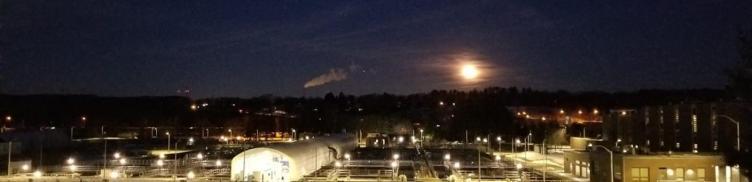 View of Upper Blackstone at night